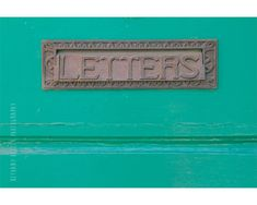 Door Photography 8x12 Print Typography Maine by #riotjane on Etsy #sunny16