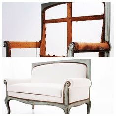 This is what we do. Everyday. All day. #reupholstered