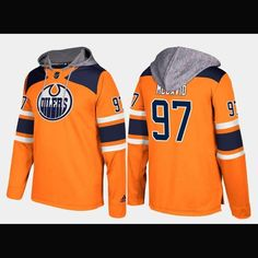 1f6d5597e Edmonton Oilers Adidas NHL Hockey Jersey Style Hoodie