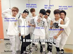 "BTS... | Haha V's line is just perfect X""D"