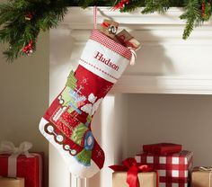 quilted christmas stockings - Google Search