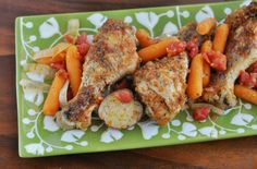 Slow Cooker Recipe | Smothered Chicken Legs