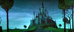 Animation Backgrounds - Sleeping Beauty: Eyvind Earle's Forest