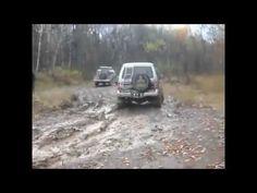 Suzuki против Mitsubishi Pajero OFF ROUD