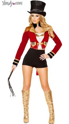 Purchase circus costumes like this Deluxe Lion Tamer at Yandy! #Yandy