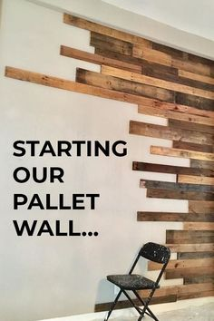 It's amazing how you can transform a room for $350! #DIY #Dining #renovation Diy Projects Cans, Diy Furniture Projects, Paint Furniture, Home Projects, Pallet Projects, Wood Plank Tile, Wood Planks, Plank Wall Bedroom, Brick Accent Walls
