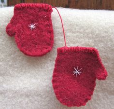 with a tiny snowflake christmas ornamentshandmade by angelinabella, $9.50