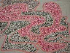 Mini patterned drawings