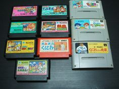 Kunio-kun series 11 games set Famicom & Super Famicom Nintendo Import Japan 877