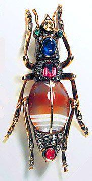 Броши-жуки - фотографии с сайта художника-ювелира Юрия Дробахи (Brooches-bugs - photos from the site of the artist-jeweler George Drobahi)