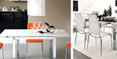 Tavolo con sedie - Calligaris  - Offerta arredamento completo a 8.590 euro #salerno #montella #arredamento #design #mobili #calligaris #cucinelube #creokitchens #divani #letti