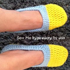 Crochet Fitted Women's Slippers  Solid or by SewMeInspirationbyJo, $18.00