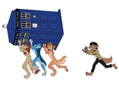The Furries have the Phone-box by ~sweentastic on deviantART