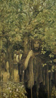 Alan Lee ~ The Mabinogion ~ Medieval Welsh Tales translated by Gwyn Jones and Thomas Jones ~ Dragon's Dream ~ 1982 Wesen, Alan Lee, Thomas Jones, Nature Spirits, Green Man, Celtic Mythology, Fantasy Art, High Fantasy, Gods And Goddesses