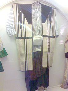 "Iran - museo ""chogha""  abito tradionale dei pastori Bakhtiari nel ovest dell'Iran بالاپوش مردان روستایی و عشایر بختیاری در غرب ایران است چوقا"