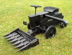 Limited Black Stealth Super 7 Gleaner Pedal Combine