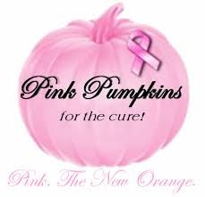 Pink Pumpkin for a cure