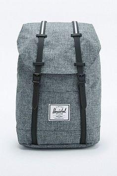 Herschel Supply co. Retreat Raven Crosshatch Backpack