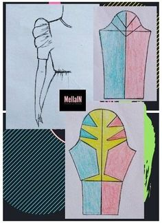 Sleeves Designs For Dresses, Sleeve Designs, Dress Sewing Patterns, Clothing Patterns, Sewing Clothes, Diy Clothes, Sewing Sleeves, Sewing Basics, Fashion Sewing