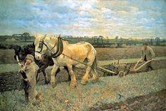 Sir George Clausen Paintings