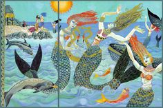 """Illustration by Christina Balit from """"Atlantis – The Legend of a Lost City"""" – ERINA DEMPSEY"""