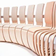 Green Furniture Sweden – Multi C, designed by Johan Berhin  #greenfurnituresweden #greenfurniture #ecofurniture #ecodesign #multic #bench #johanberhin