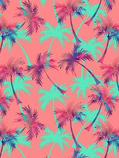 Tropical Palms on Behance