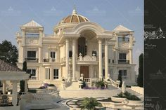 Luxury House Plans, Luxury Homes Dream Houses, Dream House Plans, Classic House Design, Dream Home Design, Mansion Designs, Dream Mansion, Castle House, Modern Mansion