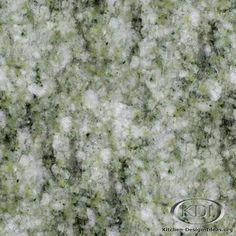Soft Green Granite  (Kitchen-Design-Ideas.org)