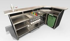 Portabar®, Portable Bars, Mobile Bar, Outdoor Event Events, Cantilever