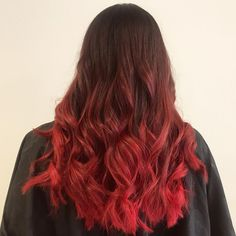 RED HOT AND READY for the Holidays!🎄🎅🏻 Red Balayage from today✨ • • • #beautybrands #mybblook #bbinspire #redhair #pravana #hairstylist… Red Balayage, Bright Red Hair, Beautiful Long Hair, Minions, Hair Ideas, Cool Hairstyles, Hair Color, Holidays, Long Hair Styles
