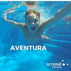 La emoción de ese primer contacto con el agua cuando te tiras de cabeza. Sumergirte y saber que hay todo un mundo por explorar. Arromel es pura #aventura. 😉