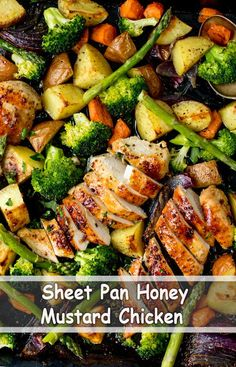 Save On The Washing Up With Our Sheet Pan Honey Mustard Chicken Recipe! Save On The Washing Up With Our Sheet Pan Honey Mustard Chicken Recipe! Healthy Dinner Recipes For Weight Loss, Easy Dinner Recipes, Healthy Recipes, Dinner Ideas, Healthy Casserole Recipes, Honey Recipes, Easy Recipes, Keto Recipes, Vegetarian Recipes
