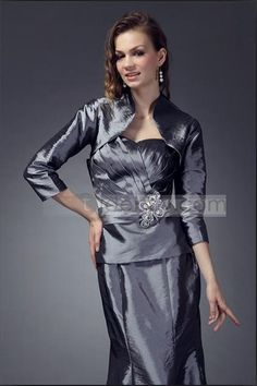 Charming 3/4-length Sleeve Wedding/ Party Jackets/Wraps