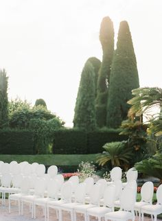 Fabulous wedding at Villa Ephrussi de Rothschild in French Riviera Outdoor Ceremony, Wedding Ceremony, Wedding Venues, Groom Attire, Wedding Bridesmaid Dresses, French Riviera, Villa, Fine Art, Wedding Places