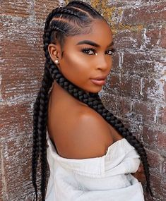 Goddess Braids Styles Picture do you know what are goddess braids Goddess Braids Styles. Here is Goddess Braids Styles Picture for you. Goddess Braids Styles 51 gorgeous goddess braids you will love 2019 guide. Black Girl Braids, Braids For Black Hair, Girls Braids, Braids For Black Women Cornrows, 2 Big Braids, Corn Row Braids, 2 Feed In Braids, Box Braids Hairstyles, Cool Hairstyles