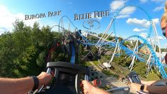 Europa Park Blue Fire (Front Seat) 360° VR POV Onride Park, Youtube, Blue, Europe, Parks, Youtubers, Youtube Movies