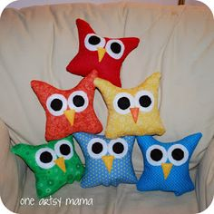 These are the cutest pillows you'll have ever seen! Any animal lover will be so happy to have one as a gift.