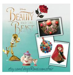 """""""Beauty and the Beast"""" by renaissance-fair ❤ liked on Polyvore featuring Disney"""