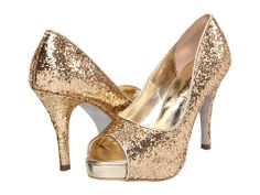 I think I'm in love!!!!  Totally would go with my Christmas party dress.  Romantic Soles Dasha