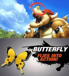 Butterfly Flies into Action! Fun #SuperSmashBros