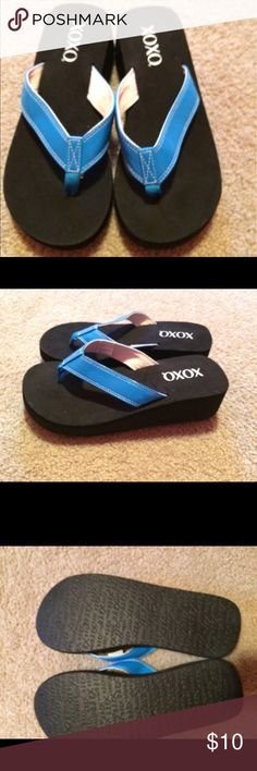 Xoxo Summer Wedges. Final Price Size 7. Never worn. XOXO Shoes Wedges