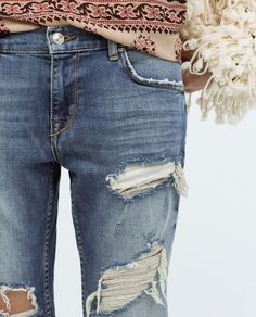 <3 ripped jeans