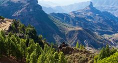 Vaellus Gran Canarian huipulle #finnmatkat
