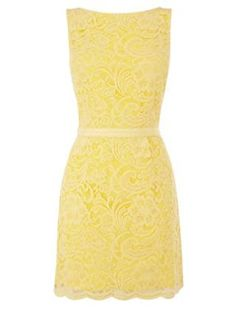 not so mellow yellow: young first lady dress.