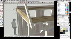 How to draw a Tiny House with Google SketchUp - Part 3