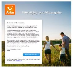 Arke.nl - Uitnodiging enquete Ecommerce, Relax, Seeds, E Commerce