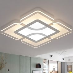 Ultra Thin Acrylic Modern Led Ceiling Lights For Living Room Bedroom Fashion LED Ceiling Lamp Lustre Lamparas De Techo Luminaria Modern Led Ceiling Lights, Pop False Ceiling Design, Ceiling Design, Lights, Colored Ceiling, Led Ceiling Lamp, Ceiling Light Design, Craftsman Interior Design