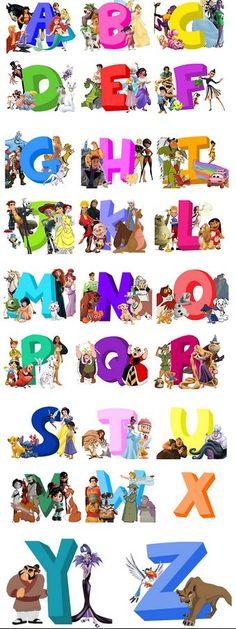 ABC of Disney. Disney should have this up in their Writers' room Disney Marvel, Disney Pixar, Film Disney, Arte Disney, Disney Girls, Disney And Dreamworks, Disney Love, Disney Magic, Disney Animation