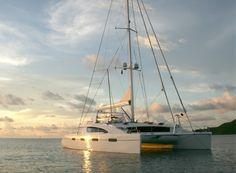 """Akasha"" - Unforgettable yacht charters in the Caribbean and British Virgin Islands (BVI). Catamaran Design, Catamaran Charter, Sailing Catamaran, Yacht Boat, Yacht Design, Sailing Ships, Yacht For Sale, Boats For Sale, Sail Caribbean"